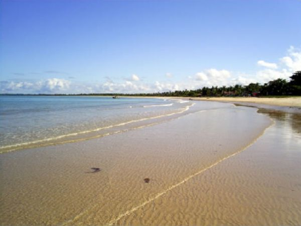 Praia de Corumbau Cumuruxatiba Bahia - Pousadas Praias Restaurantes