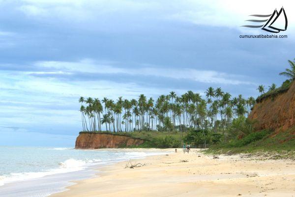 Praia da barra do Cahy Cumuruxatiba Bahia - Pousadas Praias Restaurantes