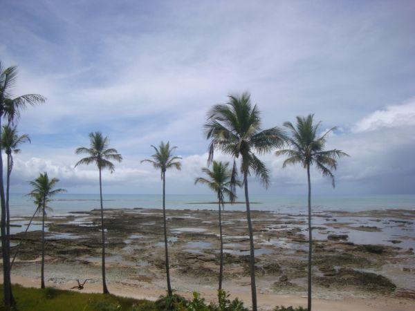 Praia da Ponta do Moreira Cumuruxatiba Bahia - Pousadas Praias Restaurantes