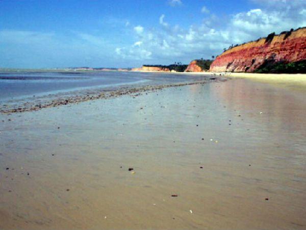 Praia dos dois Irmãos Cumuruxatiba Bahia - Pousadas Praias Restaurantes